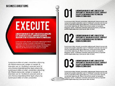 Business Directions, Slide 6, 02536, Text Boxes — PoweredTemplate.com