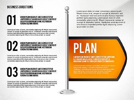 Business Directions, Slide 8, 02536, Text Boxes — PoweredTemplate.com