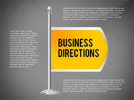 Business Directions, Slide 9, 02536, Text Boxes — PoweredTemplate.com