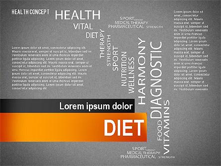 Health Concept Presentation Template, Slide 16, 02537, Presentation Templates — PoweredTemplate.com