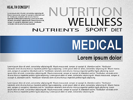 Health Concept Presentation Template, Slide 5, 02537, Presentation Templates — PoweredTemplate.com