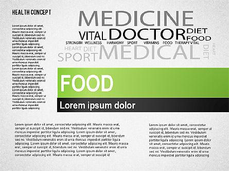 Health Concept Presentation Template, Slide 7, 02537, Presentation Templates — PoweredTemplate.com