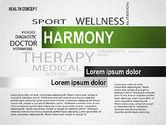 Presentation Templates: Modèle de présentation de concept de santé #02537