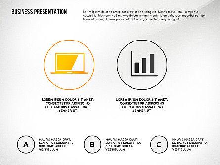 Presentation Concept with Thin Lines, Slide 2, 02538, Presentation Templates — PoweredTemplate.com