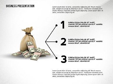 Presentation Concept with Thin Lines, Slide 3, 02538, Presentation Templates — PoweredTemplate.com