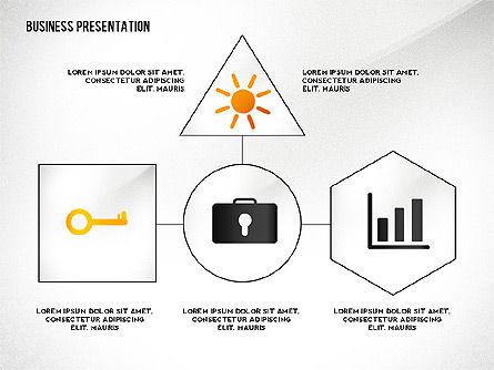 Presentation Concept with Thin Lines, Slide 4, 02538, Presentation Templates — PoweredTemplate.com