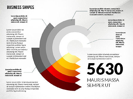 Business Models: Infographic Style Business Shapes Toolbox #02543