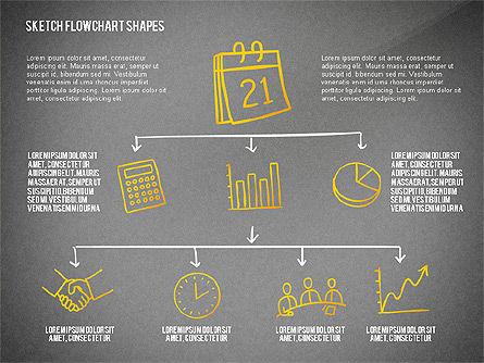 Financial and Management Flowchart Toolbox, Slide 10, 02545, Flow Charts — PoweredTemplate.com
