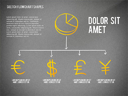 Financial and Management Flowchart Toolbox, Slide 12, 02545, Flow Charts — PoweredTemplate.com
