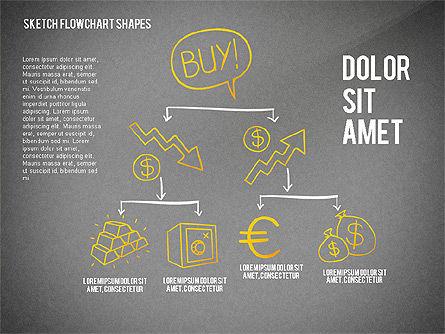 Financial and Management Flowchart Toolbox, Slide 15, 02545, Flow Charts — PoweredTemplate.com