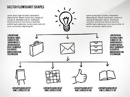 Financial and Management Flowchart Toolbox, Slide 5, 02545, Flow Charts — PoweredTemplate.com