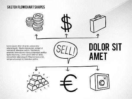 Financial and Management Flowchart Toolbox, Slide 6, 02545, Flow Charts — PoweredTemplate.com