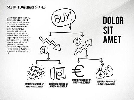 Financial and Management Flowchart Toolbox, Slide 7, 02545, Flow Charts — PoweredTemplate.com
