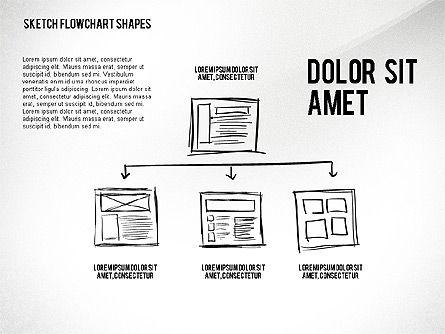 Financial and Management Flowchart Toolbox, Slide 8, 02545, Flow Charts — PoweredTemplate.com