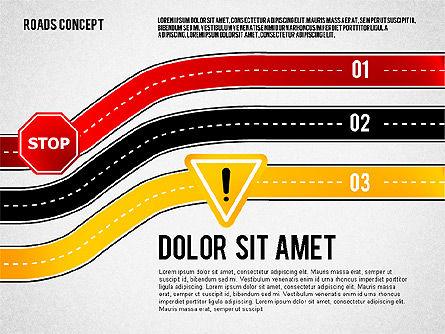 Traffic Management Presentation Concept, Slide 2, 02546, Presentation Templates — PoweredTemplate.com