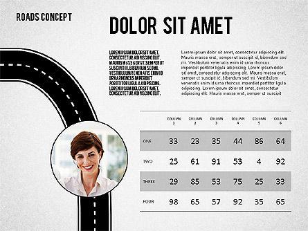 Traffic Management Presentation Concept, Slide 3, 02546, Presentation Templates — PoweredTemplate.com