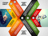 Presentation Templates: Template Presentasi Konsep Strategi #02552