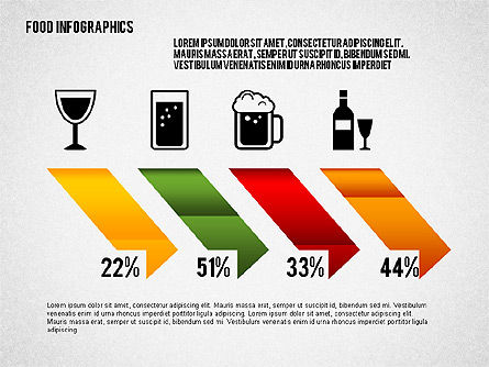 Food Infographics, Slide 3, 02555, Infographics — PoweredTemplate.com
