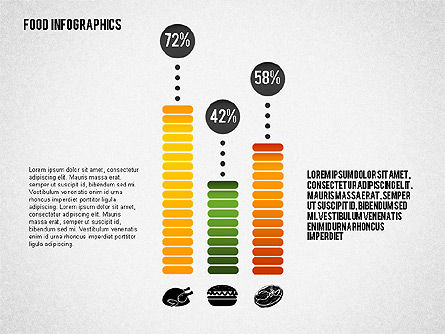 Food Infographics, Slide 4, 02555, Infographics — PoweredTemplate.com