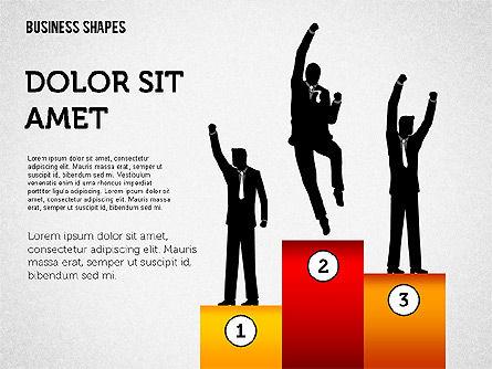 Key to Success, Slide 3, 02557, Business Models — PoweredTemplate.com