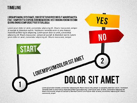 Steps to Goal Toolbox, 02558, Business Models — PoweredTemplate.com