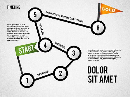 Steps to Goal Toolbox, Slide 2, 02558, Business Models — PoweredTemplate.com