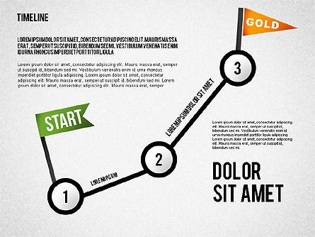 Steps to Goal Toolbox, Slide 3, 02558, Business Models — PoweredTemplate.com