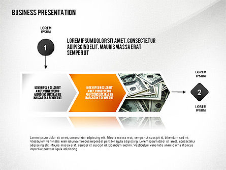 Business Results Presentation Template, Slide 2, 02559, Presentation Templates — PoweredTemplate.com