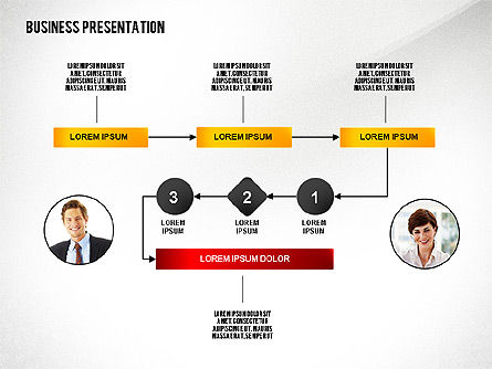 Business Results Presentation Template, Slide 3, 02559, Presentation Templates — PoweredTemplate.com