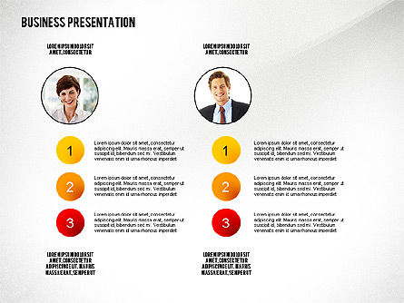Business Results Presentation Template, Slide 4, 02559, Presentation Templates — PoweredTemplate.com