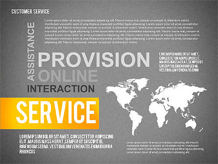 Customer Service Presentation Template, Slide 13, 02560, Presentation Templates — PoweredTemplate.com