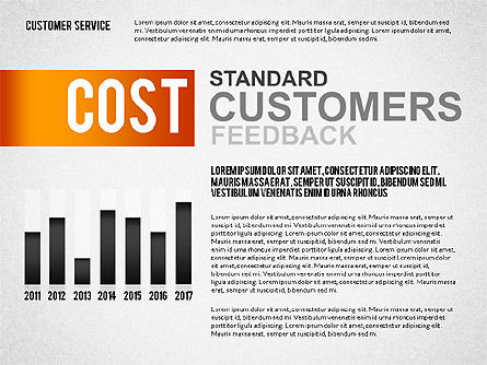 Customer Service Presentation Template, Slide 7, 02560, Presentation Templates — PoweredTemplate.com