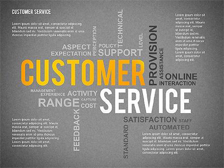 Customer Service Presentation Template, Slide 9, 02560, Presentation Templates — PoweredTemplate.com