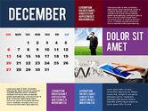 Calendar Presentation Template#12