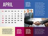 Calendar Presentation Template#4