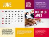 Calendar Presentation Template#6