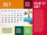 Calendar Presentation Template#7