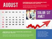 Calendar Presentation Template#8