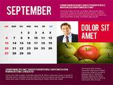 Calendar Presentation Template#9