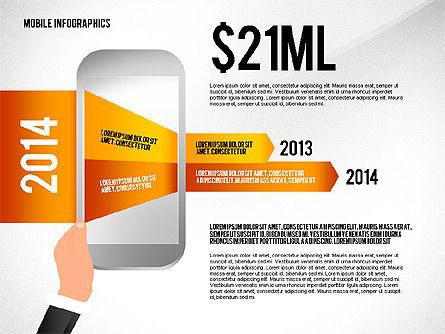 Mobile Infographics, Slide 2, 02564, Infographics — PoweredTemplate.com
