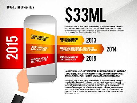 Mobile Infographics, Slide 3, 02564, Infographics — PoweredTemplate.com