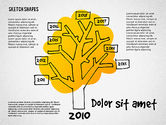 Presentation Templates: Presentation with Doodle Shapes #02565