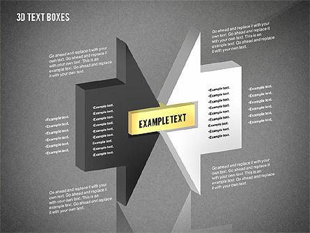 3D Process Text Boxes, Slide 10, 02569, Text Boxes — PoweredTemplate.com