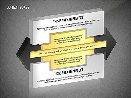 3D Process Text Boxes, Slide 16, 02569, Text Boxes — PoweredTemplate.com