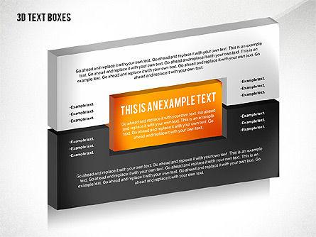 3D Process Text Boxes, Slide 5, 02569, Text Boxes — PoweredTemplate.com
