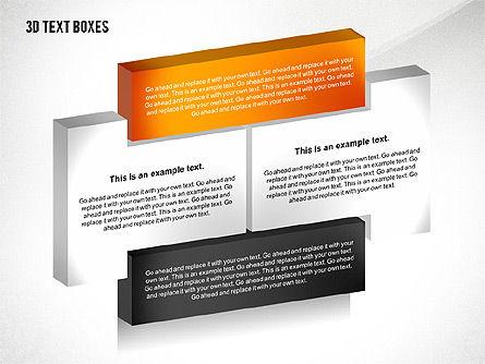 3D Process Text Boxes, Slide 6, 02569, Text Boxes — PoweredTemplate.com