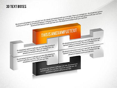 3D Process Text Boxes, Slide 7, 02569, Text Boxes — PoweredTemplate.com