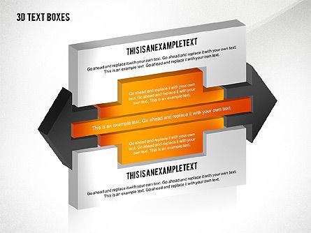 3D Process Text Boxes, Slide 8, 02569, Text Boxes — PoweredTemplate.com