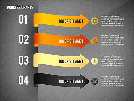 Process Charts Collection, Slide 11, 02570, Process Diagrams — PoweredTemplate.com