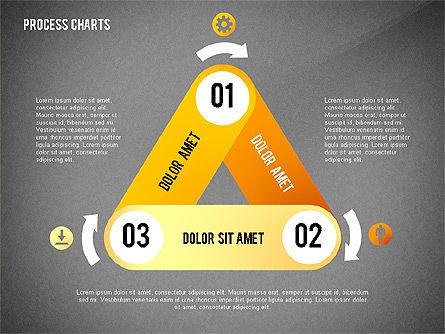 Process Charts Collection, Slide 15, 02570, Process Diagrams — PoweredTemplate.com